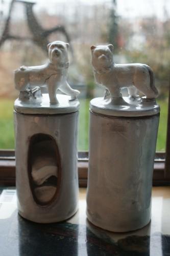 ułomne zwierzątka z serii ODNOWA, komplet do łazienki