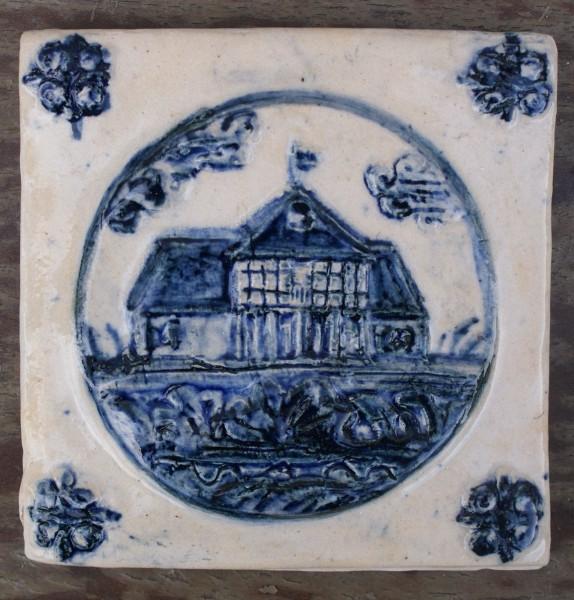 kafle holenderskie dom podcieniowy Cyganek