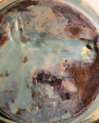 na podsawie oryginału ceramiki kadyńskiej